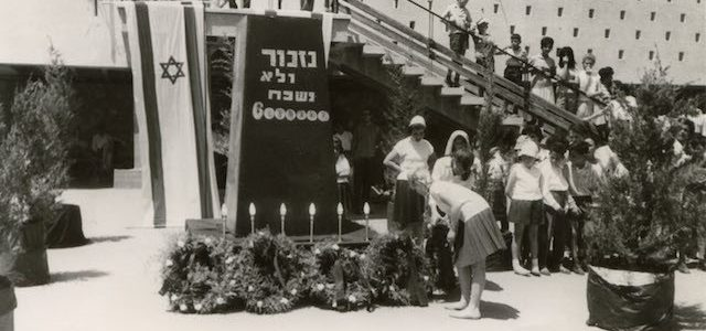 Yom Hashoah: Holokausto atminimo diena
