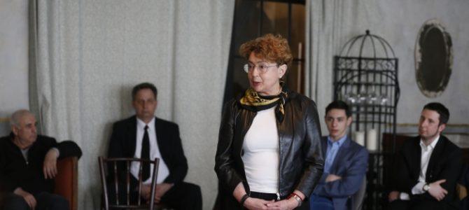 Žydų bendruomenės jaunimo susitikimas su LŽB pirmininke Faina Kukliansky
