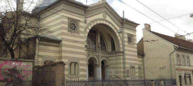 Vilniaus choralinėje sinagogoje prasideda remonto darbai.