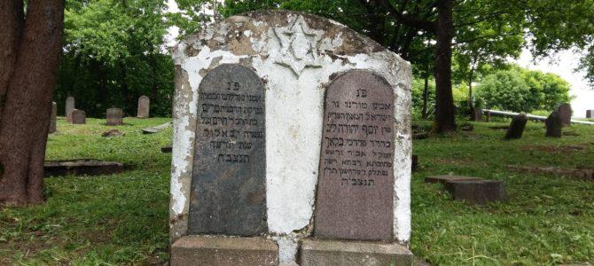 """Žemaitijos psichikos negalią turinčių žmonių klubas """"Telšių atjauta"""" ir šią vasarą tvarko Telšių senąsias žydų kapines"""