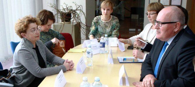 """""""Nėra Europos be žydų"""", – teigia Fransas Timmermansas, Europos Komisijos (EK) pirmininko pirmasis pavaduotojas"""
