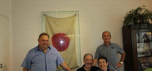 Lietuvoje lankosi Jeruzalės Hebrajų universiteto ir Niujorko Žydų teologijos seminarijos profesorius David G. Roskies su žmona