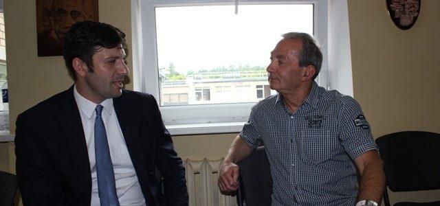 Kauno žydų bendruomenėje svečiavosi JAV ambasados darbuotojai