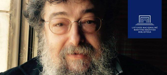 Judaikos tyrimų centre prof. Dov-Bero Kerlerio paskaita