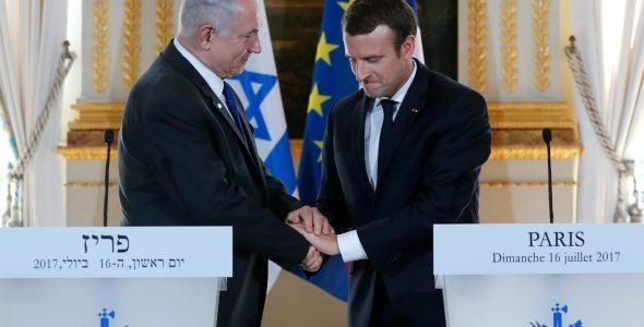 Macronas pasmerkė Prancūzijos vaidmenį Holokauste