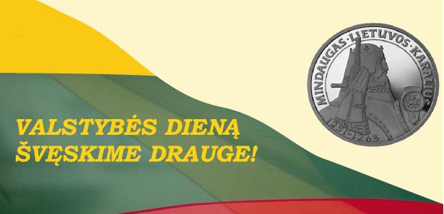 Lietuva švenčia Valstybės – Karaliaus Mindaugo karūnavimo dieną