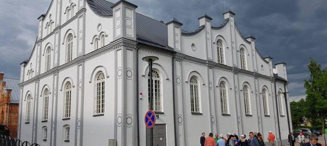 Atidaryta restauruota Joniškio Baltoji sinagoga drauge su Izraelio ambasadoriumi ir Lietuvos žydų bendruomene