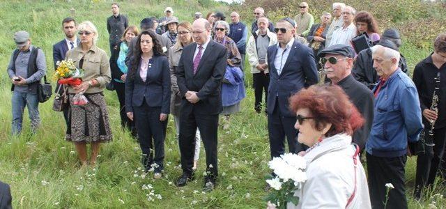 Kauno žydų bendruomenė paminėjo Petrašiūnų žydų žudynių ir Inteligentų akcijos IV forte 76-ąsias metines