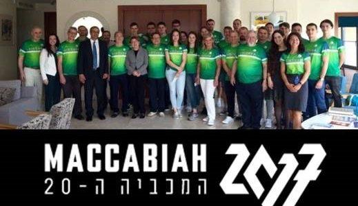 Lietuvos žydų (litvakų) bendruomenė kartu su Izraelio ambasada Lietuvoje surengė Padėkos vakarą Makabiados sportininkams