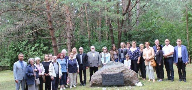 Kauno žydų bendruomenės atstovai dalyvavo Prienų ir aplinkinių miestelių:Birštono, Stakliškių, Jiezno, Balbieriškio ir kt. žydų žudynių 76-ųjų metinių minėjime