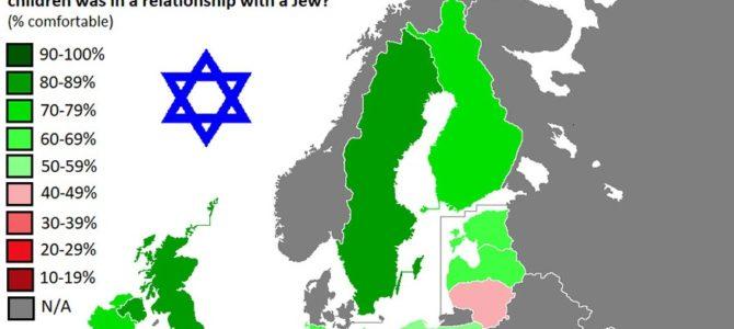 Žemėlapyje – labiausiai rasistinės Europos šalys
