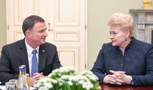 Gyvybingi ryšiai su Izraeliu – naudingi Lietuvai