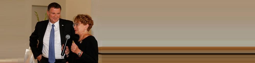 LŽB susitikimas su Izraelio Kneseto pirmininku J. J. Edelšteinu