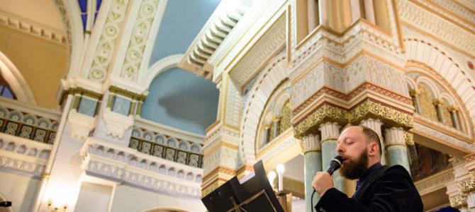 Roš ha Šana išvakarės Vilniaus Choralinėje sinagogoje