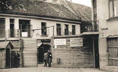Neivaikiškas vaiko dienoraštis iš Vilniaus geto