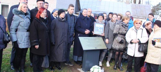 Stela žydų gelbėtojai Panevėžyje – pirmoji Lietuvoje