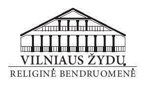 SUKKOT šventės Vilniaus Choralinėje sinagogoje