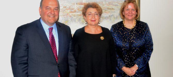 LŽB lankėsi Jungtinių Amerikos Valstijų Valstybės departamento specialusis pasiuntinys Holokausto reikalams Europoje ir Eurazijoje p. Thomas Yazdgerdi