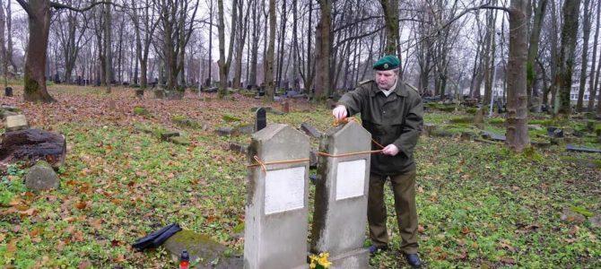 Kaune pagerbti Lietuvos kariai savanoriai žydai