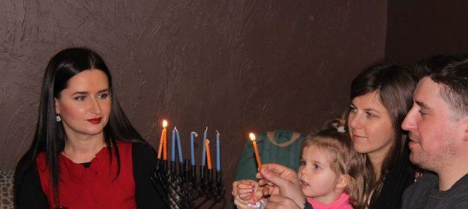 Chanukos  šventė Panevėžio miesto žydų bendruomenėje