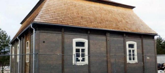 Seniausią Lietuvoje medinę Pakruojo sinagogą aplankė JAV ambasadorė Anne Hall