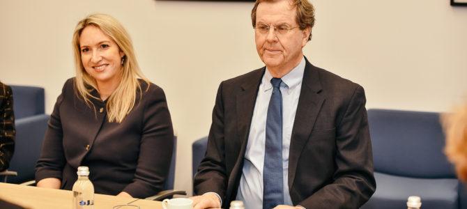 AJC delegacijos vizitai Vilniuje, susitikimas su užsienio reikalų ministru L.Linkevičiumi