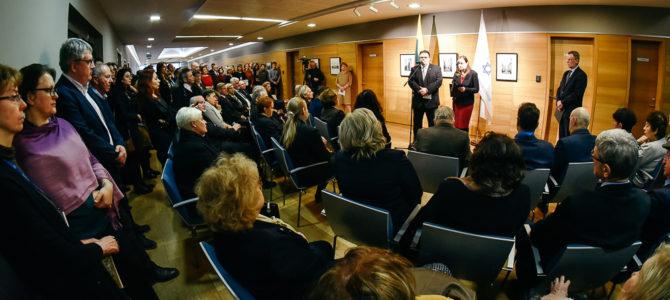 Užsienio reikalų ministerijoje surengtasTarptautinės Holokausto aukų atminimo dienos minėjimas