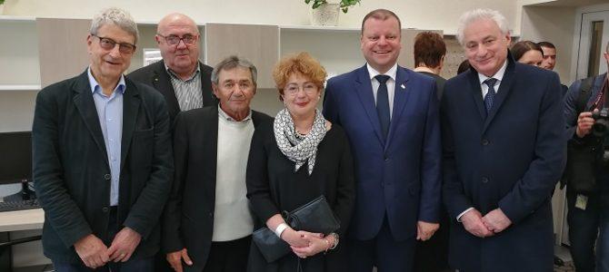 Premjeras Saulius Skvernelis: saugokime bendrą Lietuvos ir Izraelio kultūrinį paveldą