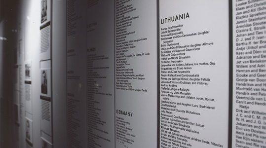 Institucijos nesusitaria, kur Vilniuje statyti paminklą žydų gelbėtojams