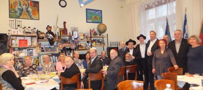 Panevėžio žydų bendruomenė švenčia Pesachą