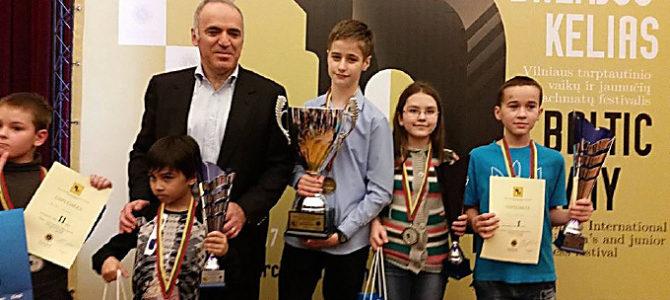 Trečiasis Vilniaus Tarptautinis vaikų ir jaunių šachmatų turnyras