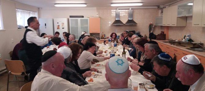 Izraelio ambasadorius A.Maimon Šabatą pasitiko su Kauno žydų bendruomene