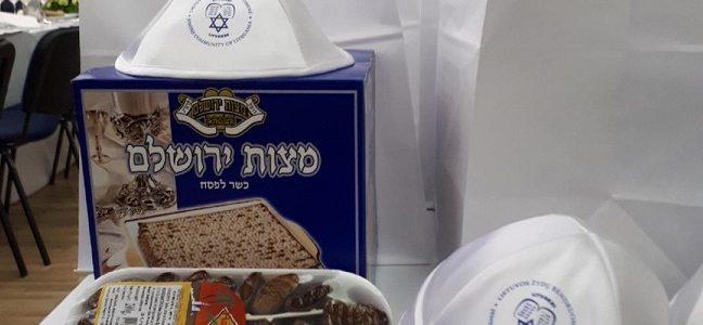 LŽB klubas Gešer atšventė Pesacho Sėderį su žydiškom tradicijom (Papildyta nuotraukomis)