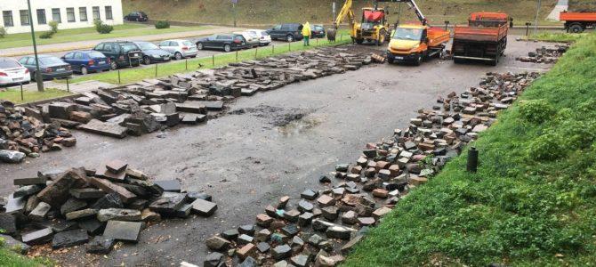 Senųjų Užupio žydų kapinių sutvarkymo projekto pasiūlymai