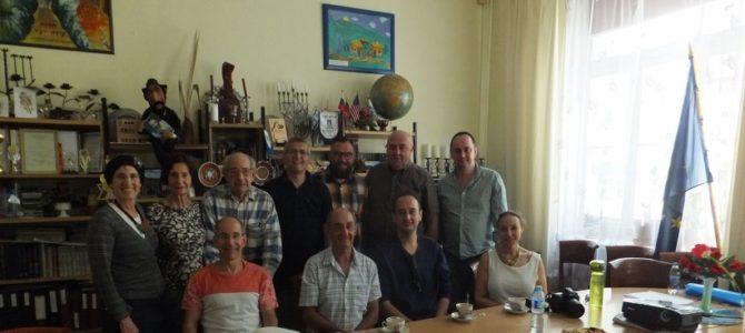 Panevėžio žydų bendruomenę lanko savo šaknis branginantys žydai