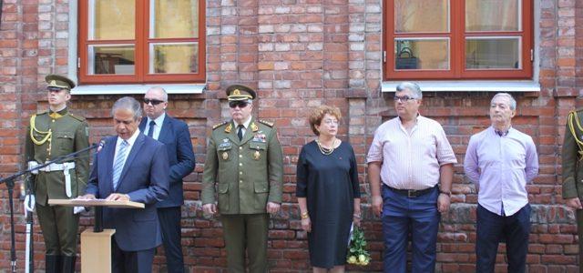 Žydų karių- savanorių pagerbimas Kaune