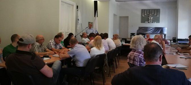 """LSK """"Makabi"""" ataskaitinė konferencija"""