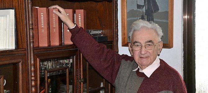 Sveikiname Grigorijų Kanovičių su 89-uoju gimtadieniu!