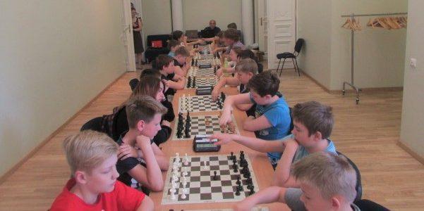 Apie LŽB įvykusį Vaikų šachmatų turnyrą