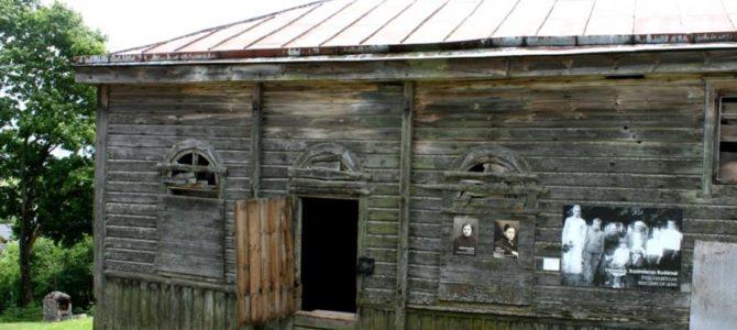 Žydų atminimo ekspozicija sulopytoje Alantos sinagogoje