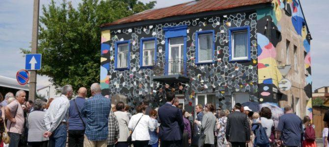 """""""Degantys akmenys"""" prie buvusių 1941-1944 metais Kauno geto vartų"""