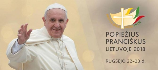 Popiežiaus vizitas Lietuvoje sutampa su Nacionaline Lietuvos žydų genocido atminimo diena