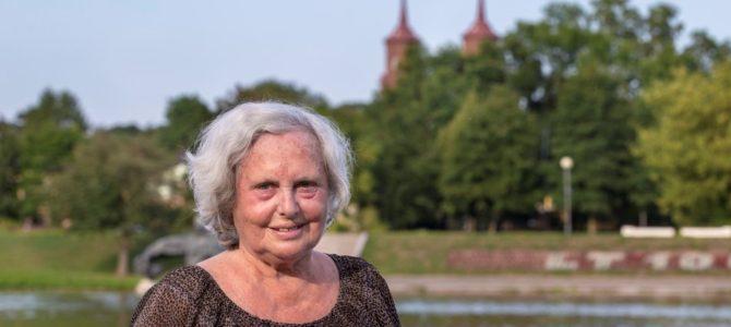 Panevėžio žydų bendruomenės narė fotografė Irena Giedraitienė