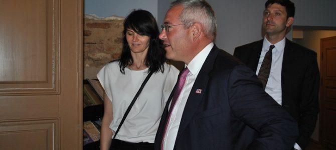 2018 m. liepą Lietuvoje lankėsi Paul Packer – naujasis Jungtinių Amerikos Valstijų paveldo komisijos pirmininkas