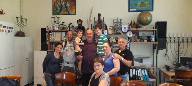 Litvakų šeimos vizitas Panevėžyje