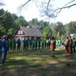 Skautų stovykla 10