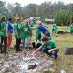 Skautų stovykla 14