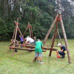 Skautų stovykla 3