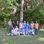 Skautų stovykla 4