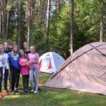 Skautų stovykla 8